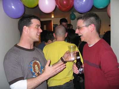Geof and Scott