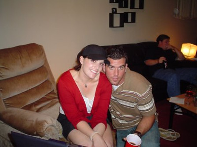 Kristy and Geof