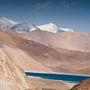 FIrst view - Pangong Tso. Unbelieveable blue tones.