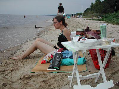 Jessica and snacks