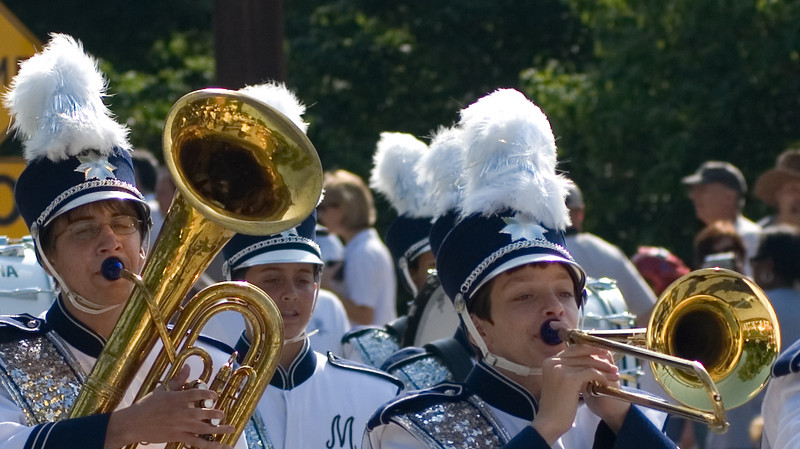 I relate to these guys. I played trumpet in school.