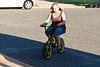 I've seen clowns ride bigger bikes.