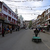 The main Street in Leh 23 years later !