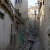 The medieval old town in Leh.