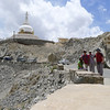 We walked to a Japanese sponsored Stupa outside Leh as part of our acclimatisation regime