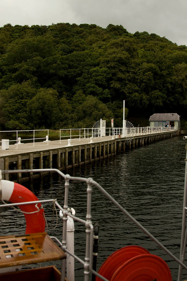 Ullswater - Pooley Bridge ferry pier at the north end of Ullswater