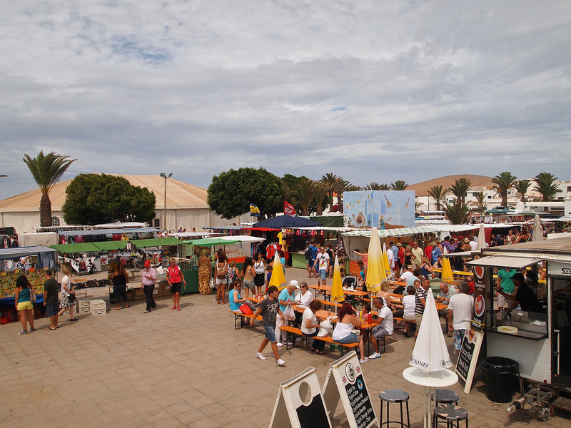 Another shot of Teguise's Sunday market.