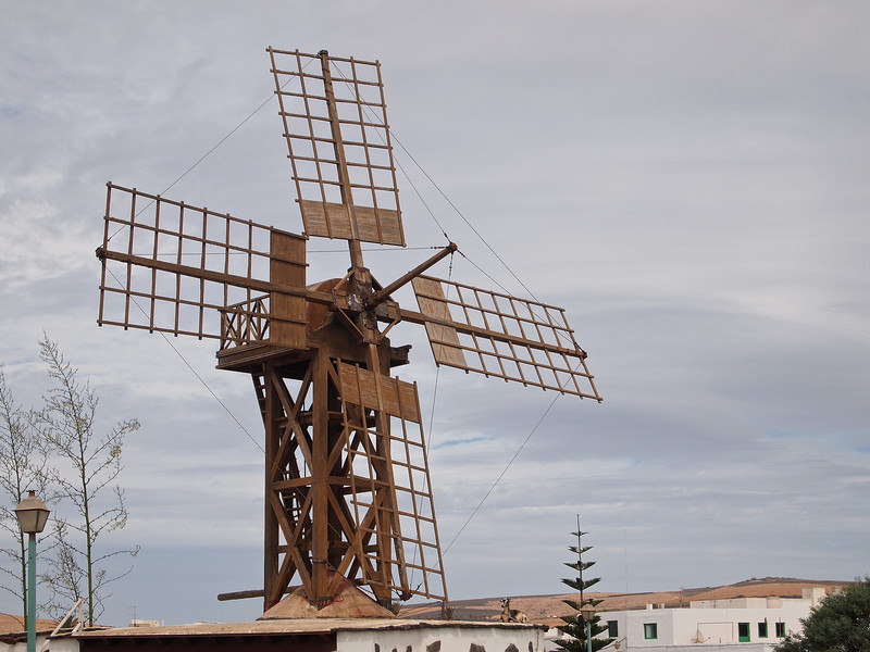 My final shot of Lanzarote is this windmill, which sits at the entrance to Teguise's old town.
