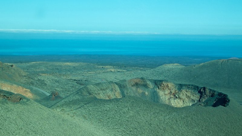 Including a look into a volcanic crator from above.