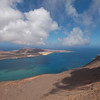 The amazing view from Mirador Del Rio, Northern Lanzarote.