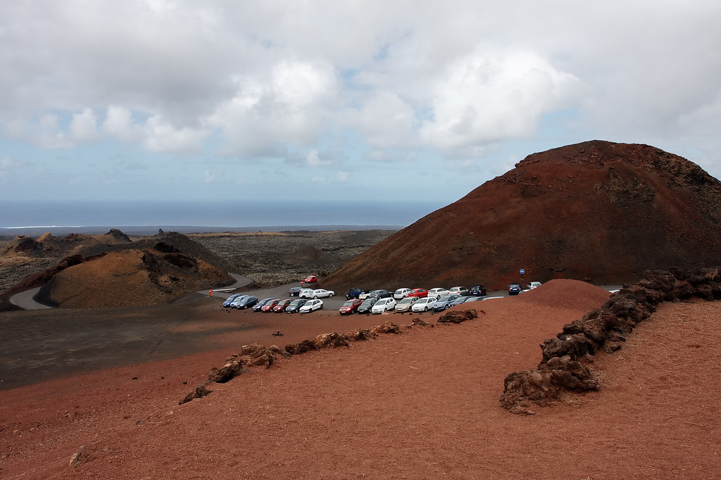 car park at fire mountain