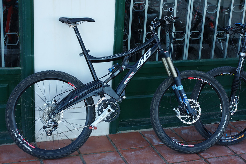 Ride for the week ..Whyte 46 <br /> <br /> hired from bike station
