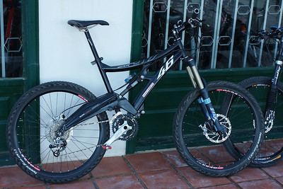 Ride for the week ..Whyte 46   hired from bike station