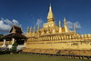 Pha That Luang stupa is country's most important monument.