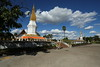 Sikhottabong Stupa in Thakhek. Easy to reach if you have a bike or you are willing to pay tuktuk drivers a lot for a short ride.