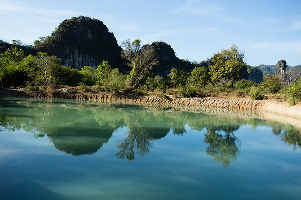 The main reason to make this trip is landscape. There are many hills, lakes and vegetation.