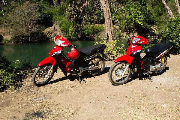 Two very bad maintained bikes. We took them only for a day as we didn't have the courage to go further with them.