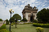 The capital, Vientiane has its name origin in French. The city was the administrative capital during the French occupation and they were having a hard time pronouncing the previous city name.