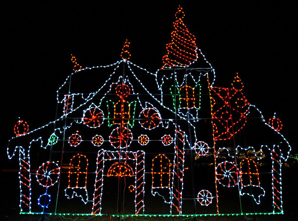 Largo Park Holiday Lights:  2008