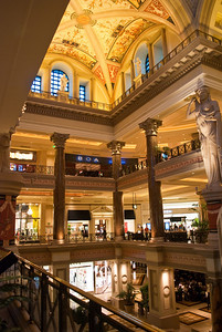 Main Shopping area, Caesars Palace