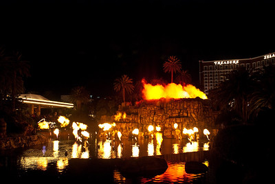 Fire, The Mirage.
