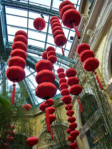 Lanterns, The Bellagio.