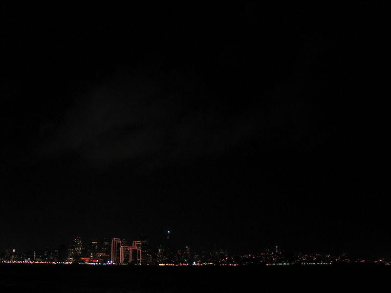 San Francisco skyline from Treasure Island.