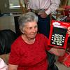 Memom got a large print calculator for a gag gift.