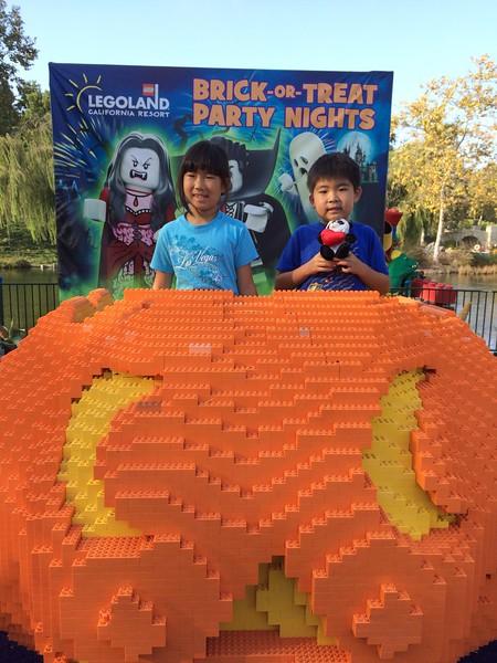 Legoland Brick or Treat 2014