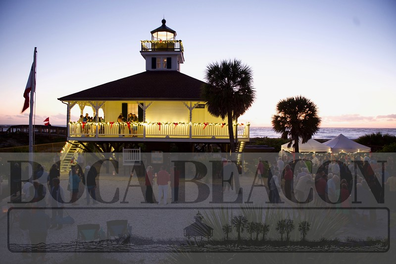 Lighting of the Port Boca Grande Lighthouse 2019