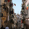 More scenes of the Bairro Alto - quiet during the day, the roads are packed at nighttime.