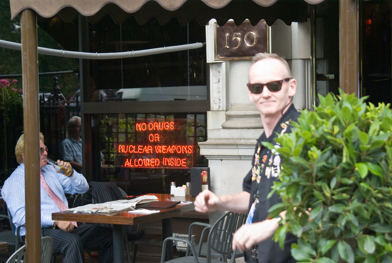 Just loved the neon sign in the window, at the Hard Rock Cafe in London!