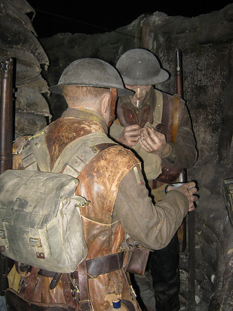 Imperial War Museum - WWI Trench
