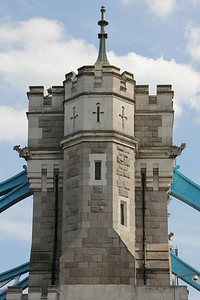 Southern part of Tower Bridge. 21 April 2013
