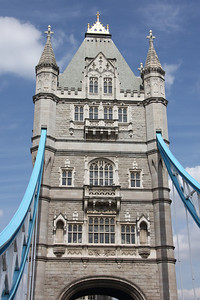 Southern Tower of Tower Bridge. 21 April 2013