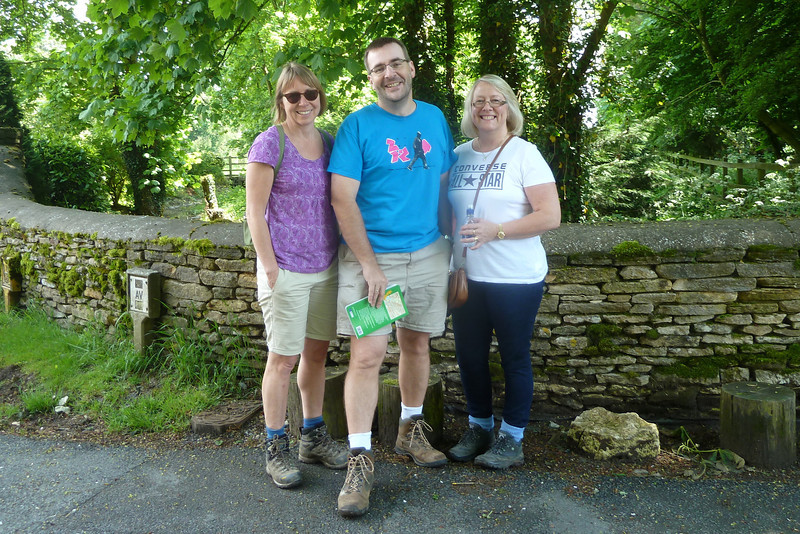 """Off on an """"Auntie Anne"""" Hike...this time, the rolling countryside north of Cirencester..."""