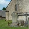 The churchyard at Daglingworth