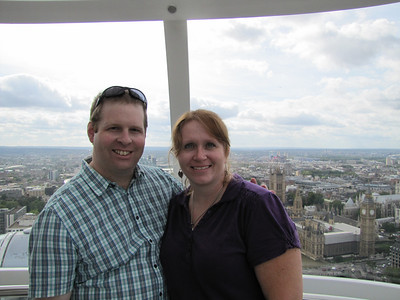 Engaged on the London Eye