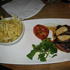 Sirloin steak frites from All Bar One near the Tower of London