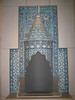 Islamic chimney piece inside the Victoria & Albert Museum
