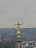 Statue on top of the Old Bailey