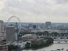 The London Eye and the Golden Jubilee Bridges