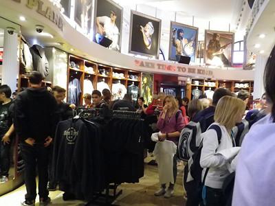 Hard Rock Shop, London