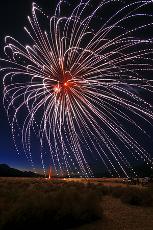 Independence California Fireworks 2014