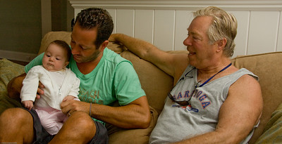 Lyla, Jason and Poppa Pete
