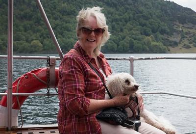 Pat and Kiri on Ullswater