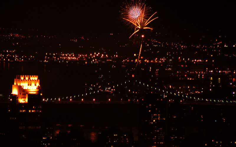 Fireworks from TOTR