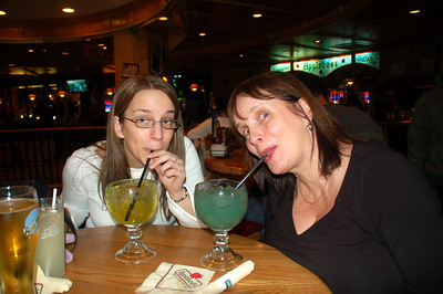 Cocktails in Applebee's