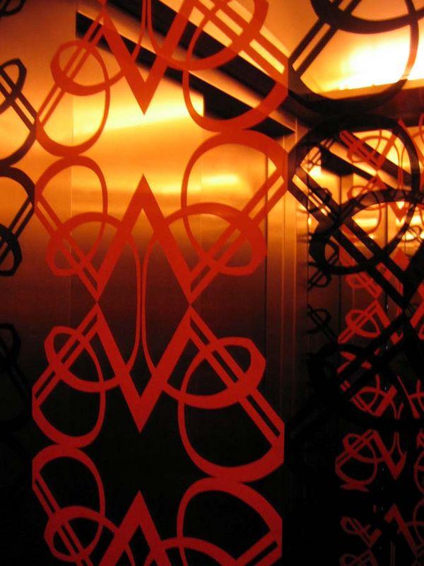 """Lift <a href=""""http://www.thezetter.com"""">Hotel Zetter</a>, wowie hotel!"""