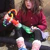 Lowell City of Lights parade. Lela Nguyen, 6, of Lowell. (SUN/Julia Malakie)